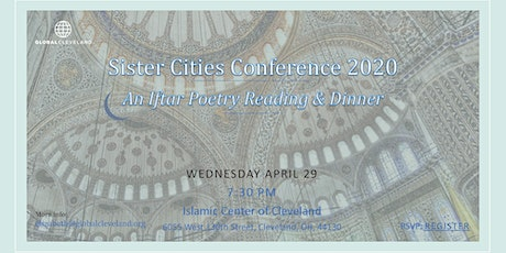 Sister Cities - Iftar Poetry Reading and Dinner tickets