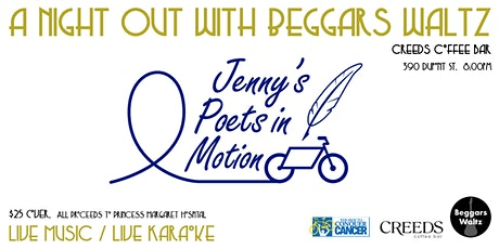 A Night Out with Beggars Waltz & Jenny's Poets In Motion tickets