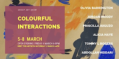 Colourful Interactions | Group Art Show tickets