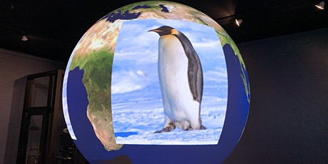 Science on a Sphere at the MSU Museum - Mystery of the Penguin Feather tickets