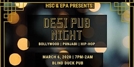 Desi Pub Night 2020 tickets