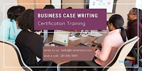 Business Case Writing Certification Training in Sainte-Anne-de-Beaupré, PE billets