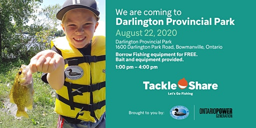 TackleShare at Darlington Provincial Park