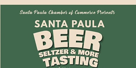 Santa Paula Beer, Seltzer and More Tasting tickets