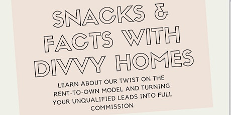 Divvy Homes Snacks & Facts tickets