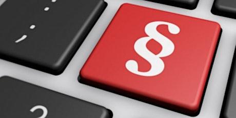 Law, Tax & Compliance: Asset Deal & Datenschutz Tickets