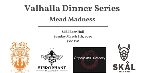 Valhalla Dinner Series Featuring Meads of Washington