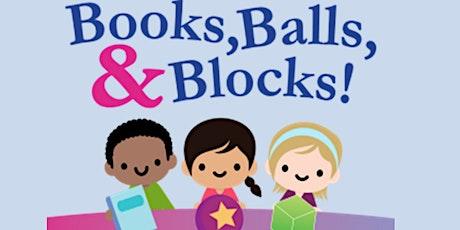 Books, Balls, and Blocks  (Libros, Bolas y Bloques) tickets