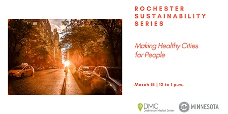 Making Healthy Cities for People tickets