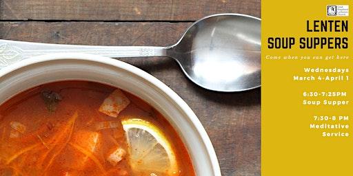 Lenten Soup Suppers
