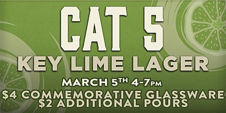 Cat 5 Key Lime Lager Beer Release tickets