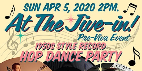 At The Jive In- 1950s Style Record Hop Dance Party tickets
