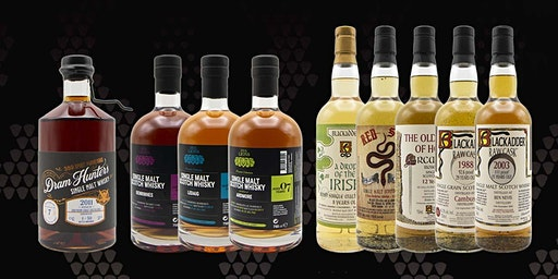 Blackadder, Five Lions & Dram Hunters Whisky Tasting