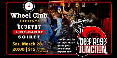 Country Line-Dance Soirée feat. Deep Rose Junction at the Wheel Club tickets