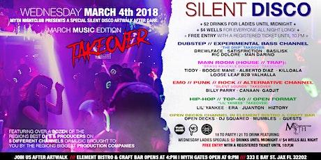 SILENT DISCO (March Music Edition) Artwalk After Dark at Myth Nightclub | 03.04.20 tickets