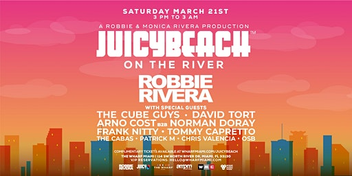 Juicy Beach On The River