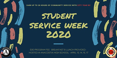 Student Service Week 2020 | Earn Up To 28 Community Service Hours! tickets