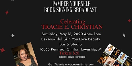 B CYDE NIGHTS - Pamper You Book Signing & Broadcast for Tracie E. Christian tickets