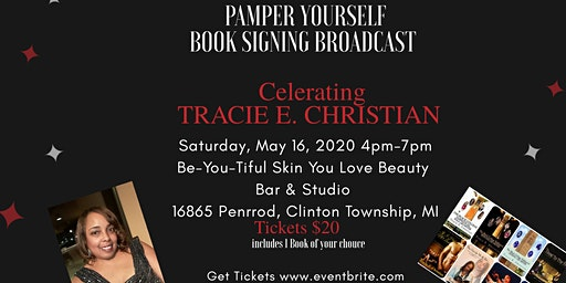 B CYDE NIGHTS - Pamper You Book Signing & Broadcast for Tracie E. Christian