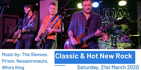 Classic & Hot New Rock tickets