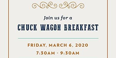 CELEBRATE THE RODEO WITH A CHUCK WAGON BREAKFAST AT FROST BANK ALMEDA