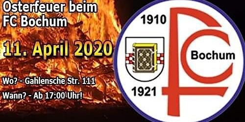FC Bochum 1910/21 Osterfeuer 2020