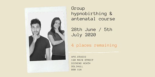 2 day Hypnobirthing and Antenatal Course