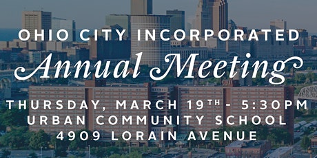Ohio City Incorporated: Annual Meeting tickets
