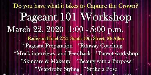 Pageant 101 Workshop