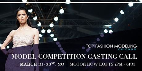 Top Fashion Model of Chicago Competition tickets