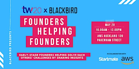 Founders Helping Founders by Blackbird tickets