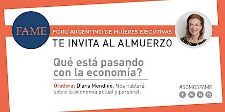 Primer almuerzo 2020 del Foro Argentino de Mujeres Ejecutivas entradas