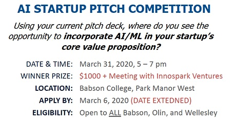 BASBSON AI STARTUP PITCH COMPETITION tickets