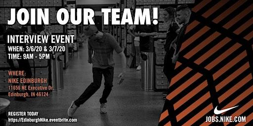 Nike Interview Event Edinburgh