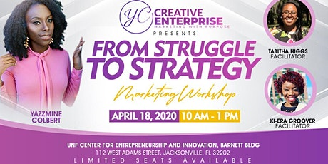 From Struggle to Strategy Marketing Workshop tickets