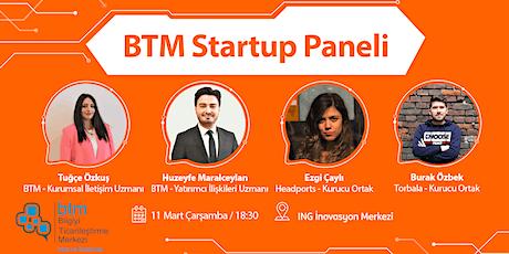 BTM Startup Paneli tickets