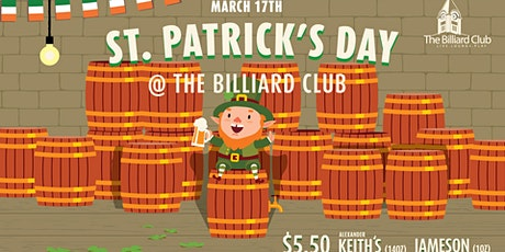 St. Patrick's Day Feat. Green Everything! tickets