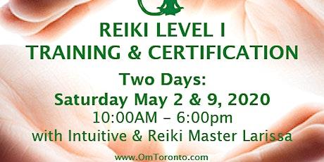 Reiki Level I: Training & Certification  tickets