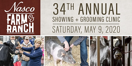 Nasco's 34th  Annual Showing & Grooming Clinic
