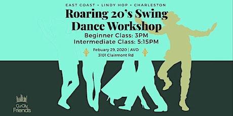 Roaring 20's Beginner Swing Dance Workshop tickets