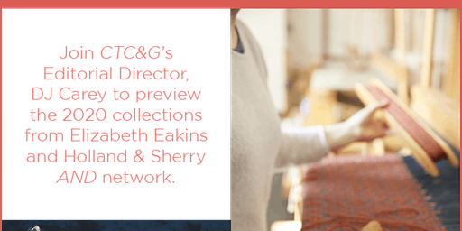 Preview of Elizabeth Eakins and Holland & Sherry 2020 Collections