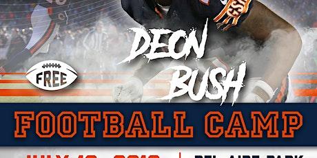 Deon Bush Free Football Camp tickets