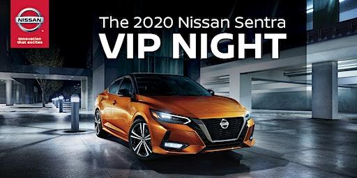 The 2020 Nissan Sentra VIP Night