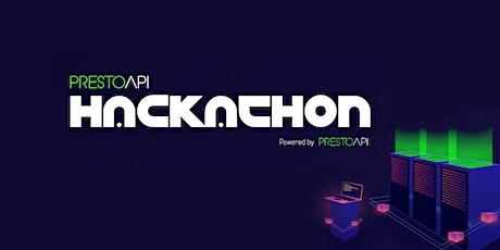 PrestoAPI Hackathon tickets