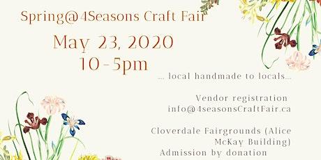 Spring @ 4 Seasons Craft Fair tickets
