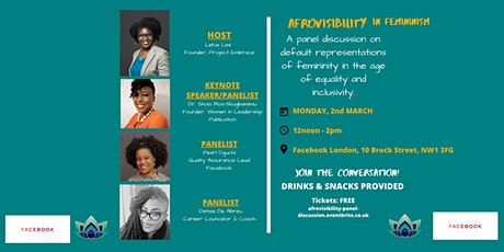 AFROVISIBILITY in feminism:  A panel discussion tickets