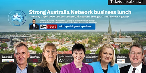 Strong Australia Network Business Lunch