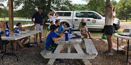 Fishing Clinic at Sun City Grandparents Park