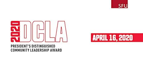 President's Distinguished Community Leadership Award Dinner 2020 tickets