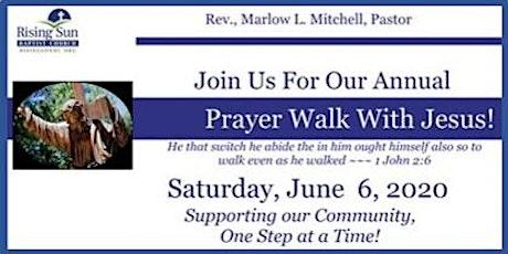 2020 Prayer Walk With Jesus tickets